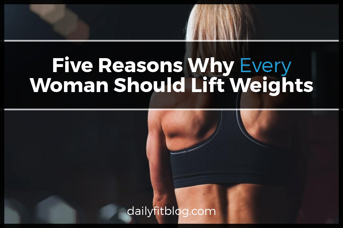 Five reasons to lift weights photo